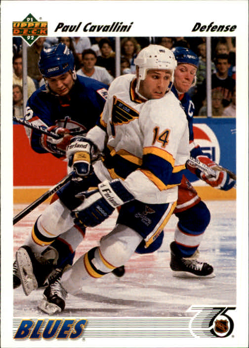 1991-92 Upper Deck #184 Paul Cavallini