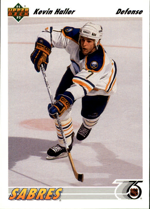 1991-92 Upper Deck #192 Kevin Haller RC