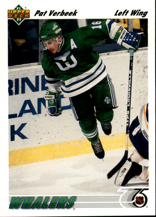 1991-92 Upper Deck #193 Pat Verbeek