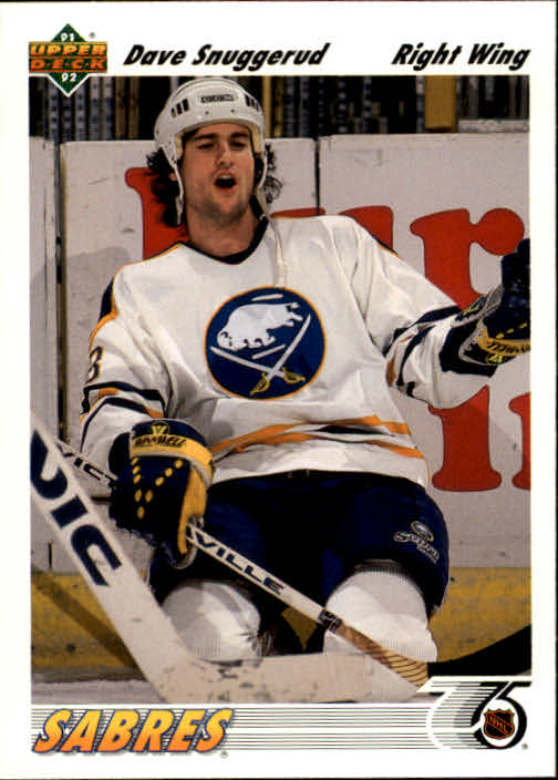 1991-92 Upper Deck #194 Dave Snuggerud