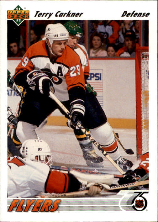 1991-92 Upper Deck #204 Terry Carkner