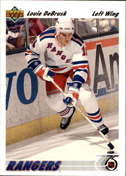1991-92 Upper Deck #249 Louie DeBrusk RC