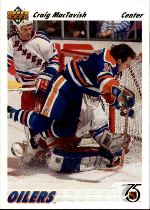1991-92 Upper Deck #284 Craig MacTavish