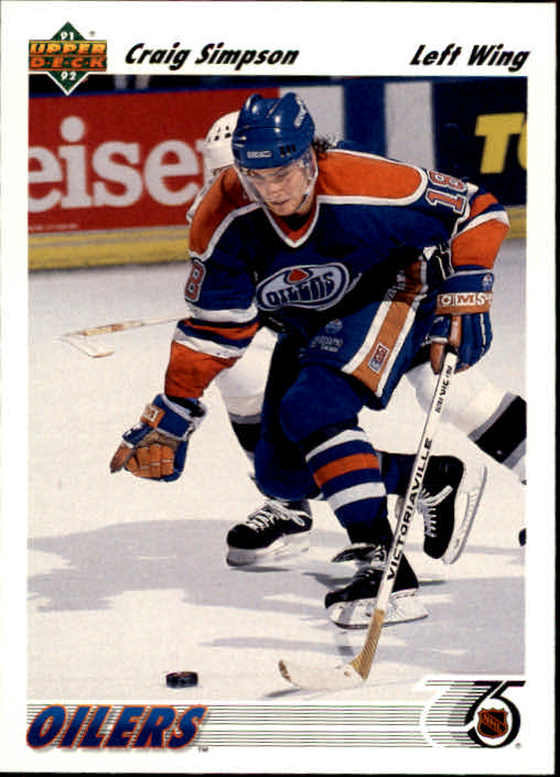 1991-92 Upper Deck #286 Craig Simpson