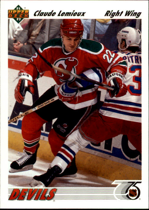 1991-92 Upper Deck #294 Claude Lemieux
