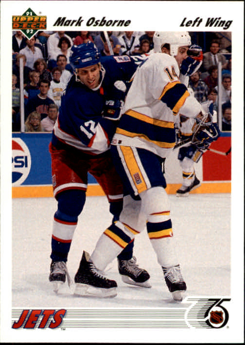 1991-92 Upper Deck #296 Mark Osborne