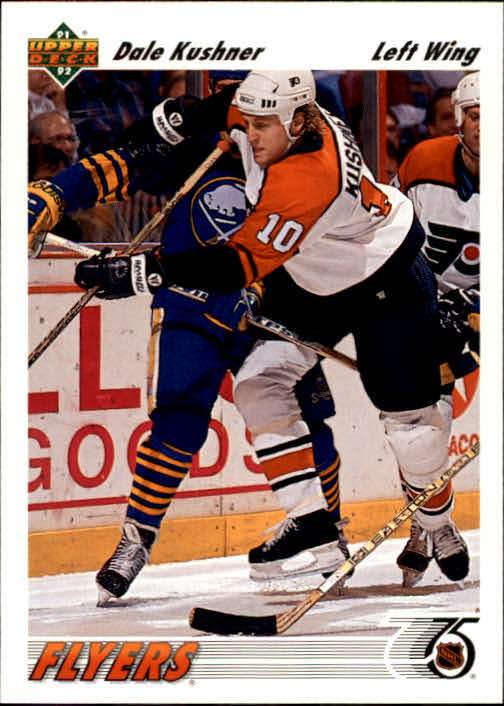 1991-92 Upper Deck #429 Dale Kushner