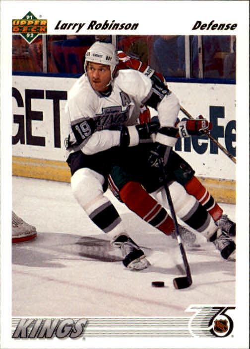 1991-92 Upper Deck #499 Larry Robinson