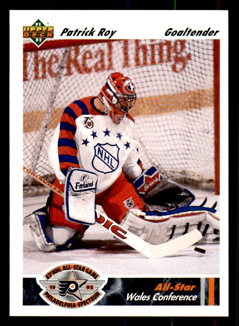 1991-92 Upper Deck #614 Patrick Roy AS