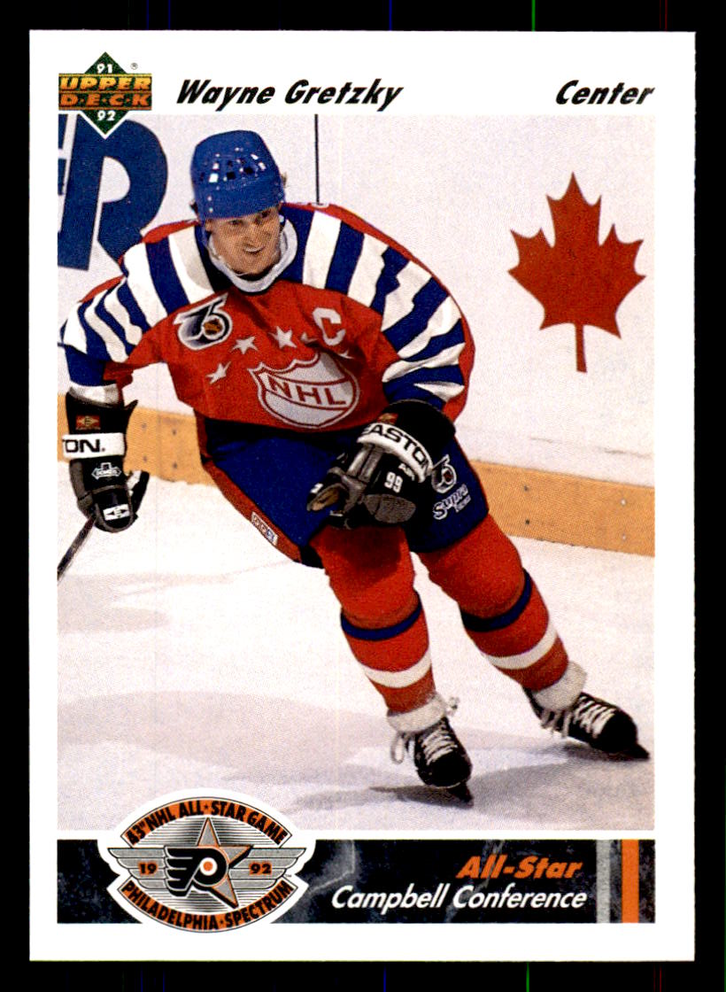 1991-92 Upper Deck #621 Wayne Gretzky AS