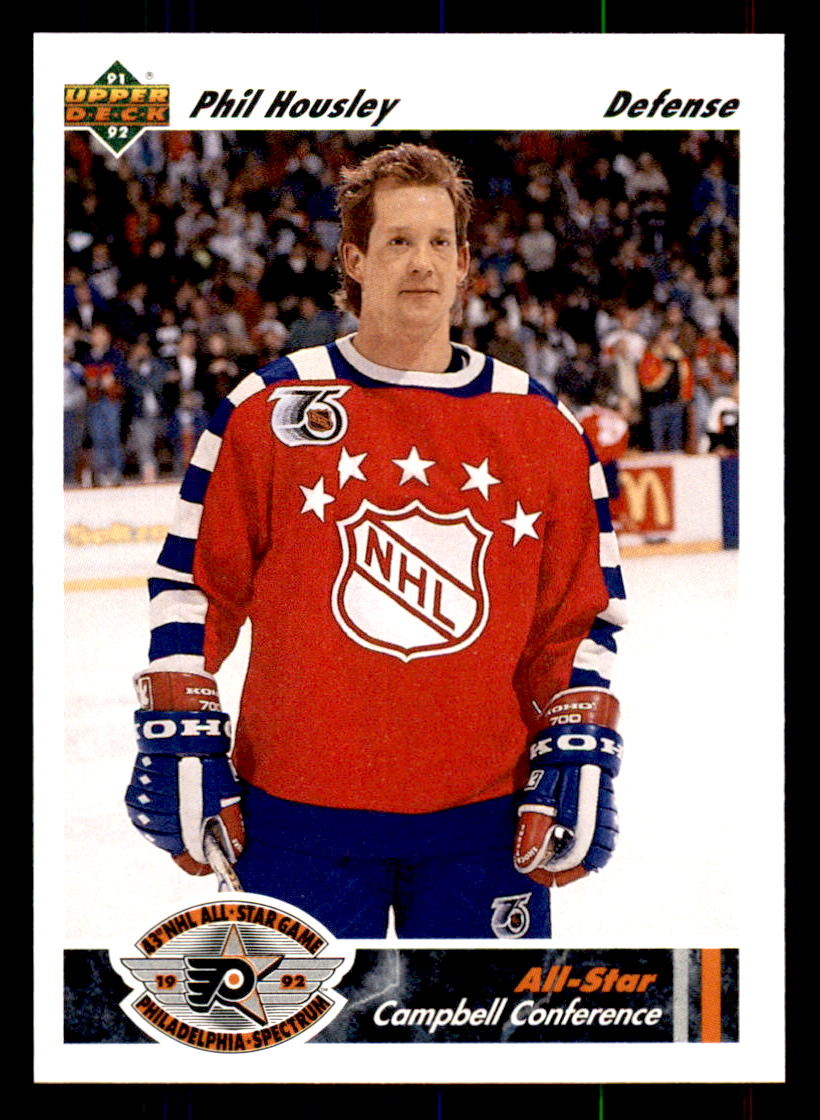 1991-92 Upper Deck #624 Phil Housley AS