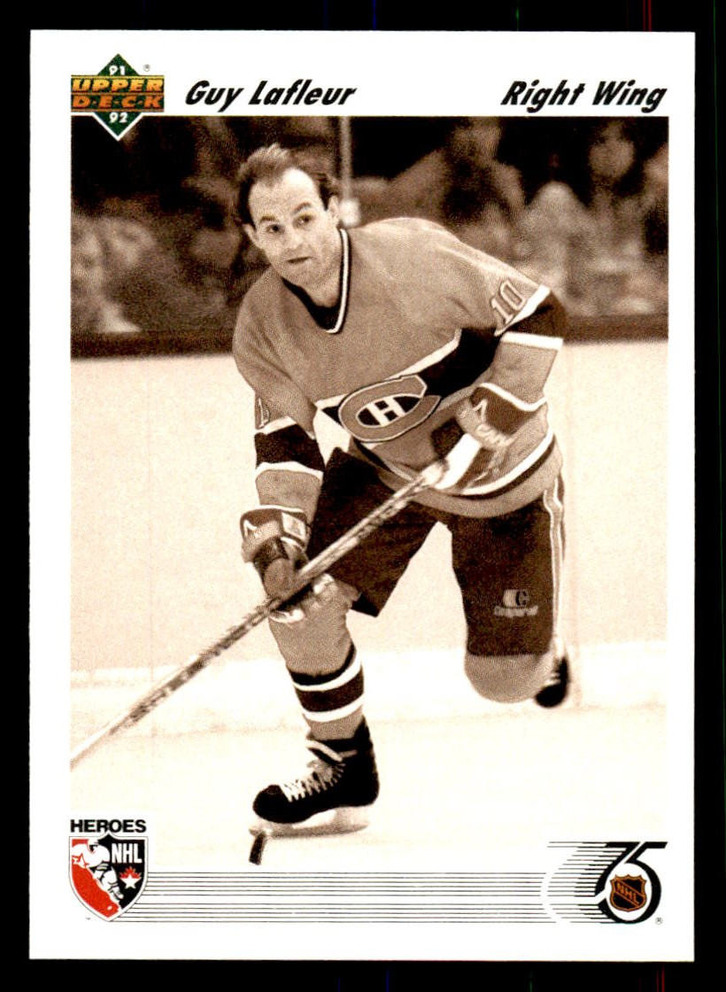 1991-92 Upper Deck #638 Guy Lafleur HERO