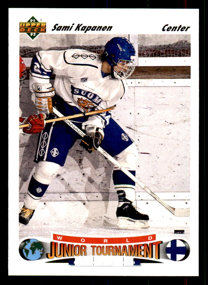 1991-92 Upper Deck #674 Sami Kapanen RC