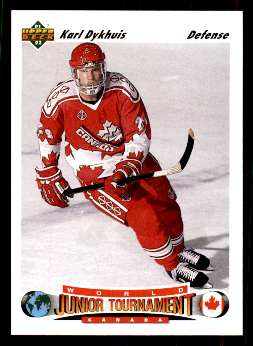 1991-92 Upper Deck #688 Karl Dykhuis
