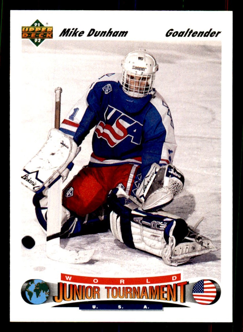1991-92 Upper Deck #693 Mike Dunham RC