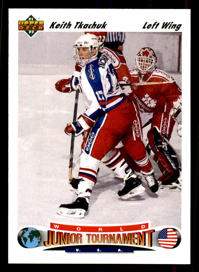 1991-92 Upper Deck #698 Keith Tkachuk RC
