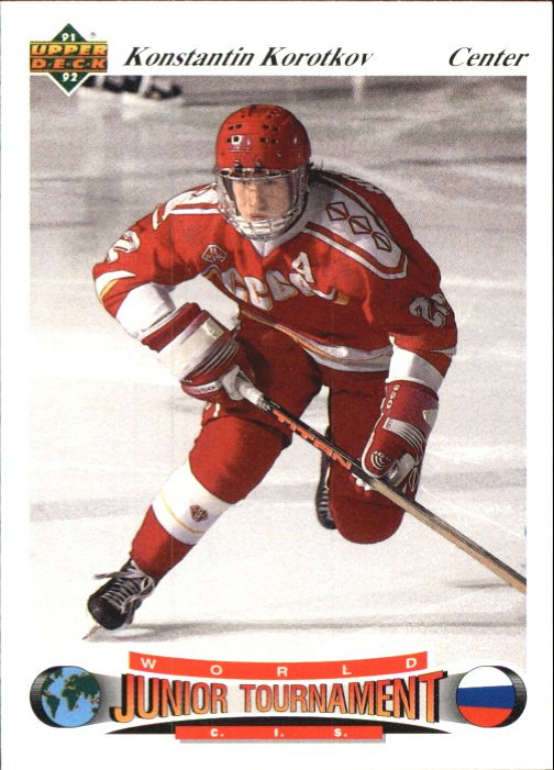 1991-92 Upper Deck Czech World Juniors #15 Konstantin Korotkov