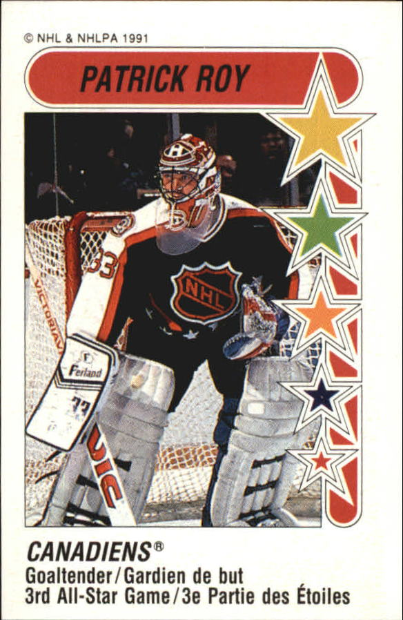 1991-92 Panini Stickers #333 Patrick Roy