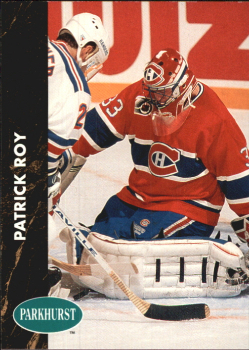 1991-92 Parkhurst French #90 Patrick Roy