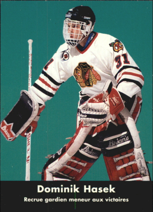 1991-92 Parkhurst French #449 Dominik Hasek RL