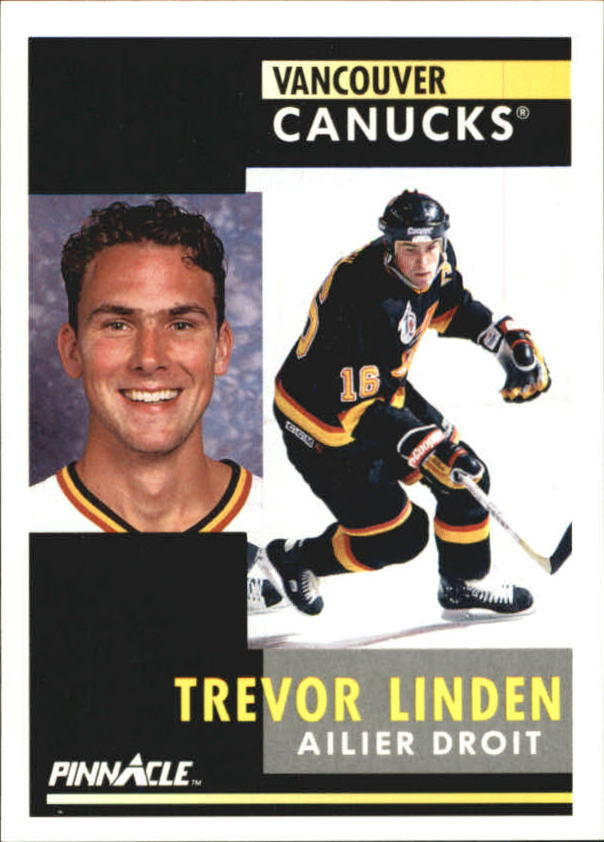 1991-92 Pinnacle French #2 Trevor Linden