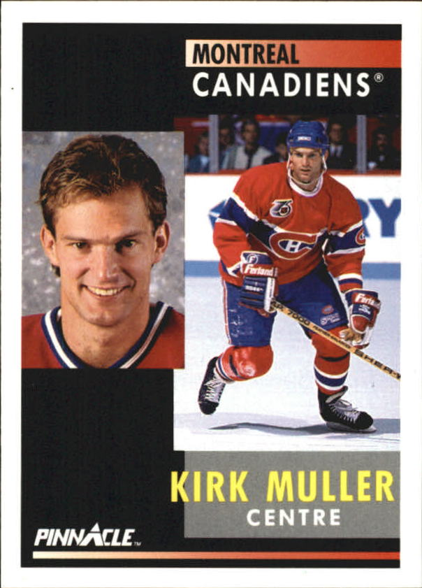 1991-92 Pinnacle French #3 Kirk Muller