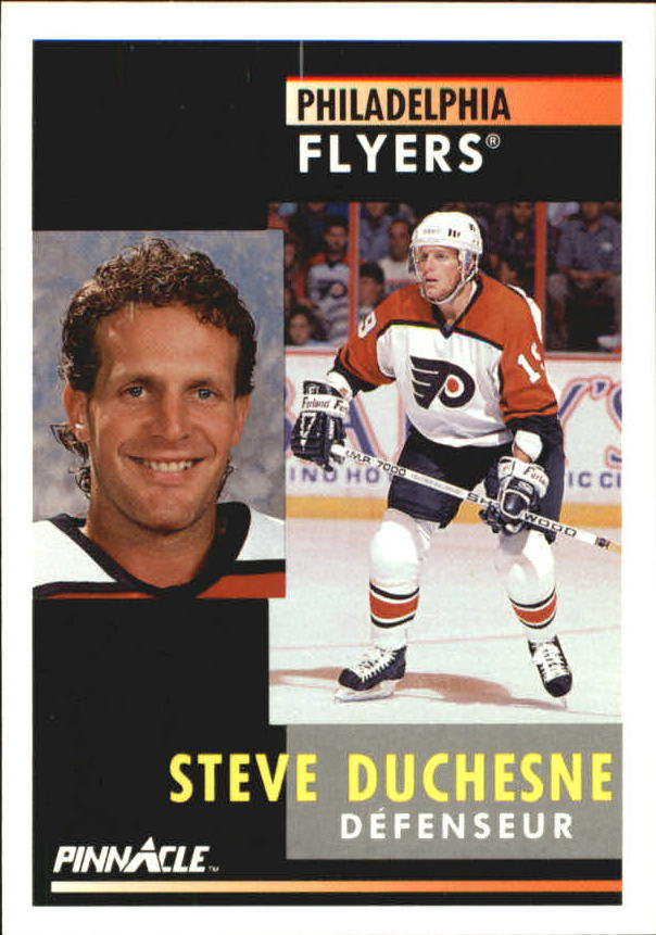 1991-92 Pinnacle French #42 Steve Duchesne