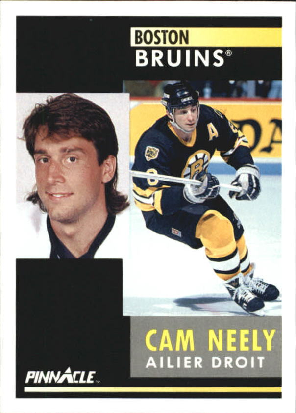 1991-92 Pinnacle French #78 Cam Neely