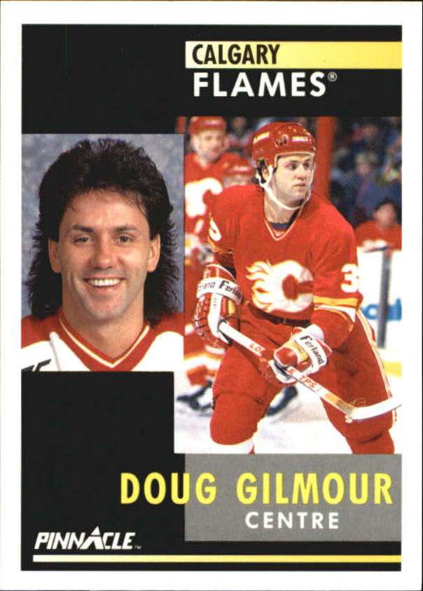 1991-92 Pinnacle French #92 Doug Gilmour