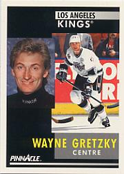 1991-92 Pinnacle French #100 Wayne Gretzky