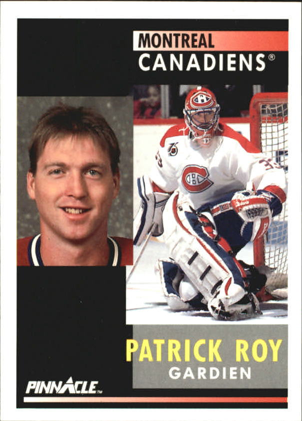 1991-92 Pinnacle French #175 Patrick Roy