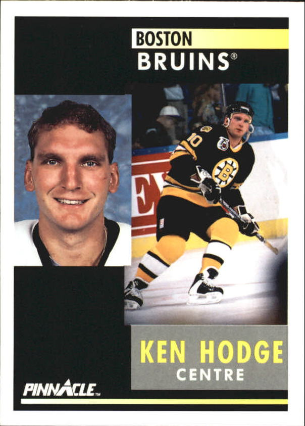1991-92 Pinnacle French #203 Ken Hodge Jr.