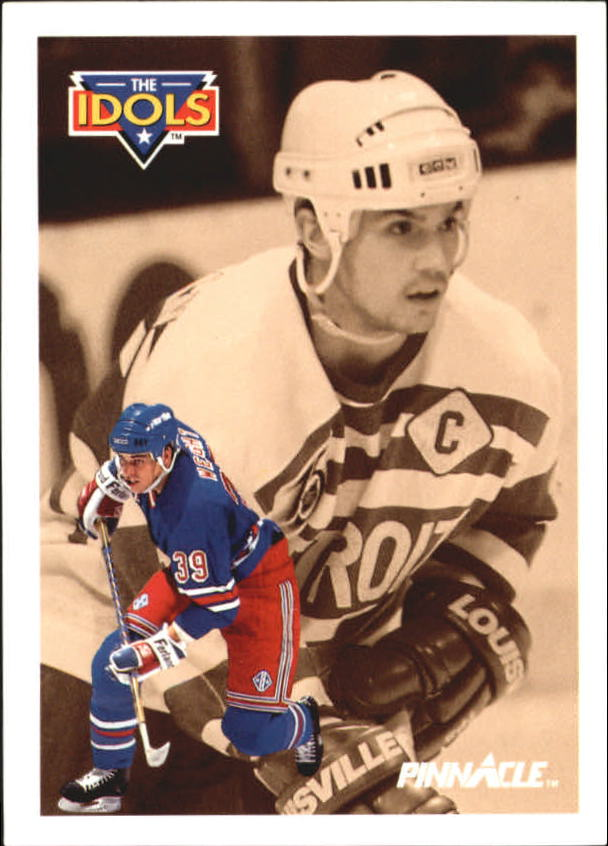 1991-92 Pinnacle French #383 Doug Weight IDOL/(Steve Yzerman)