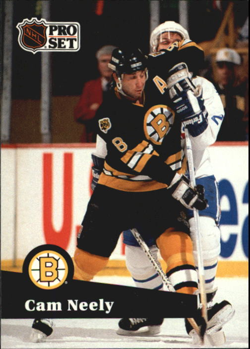 1991-92 Pro Set French #5 Cam Neely