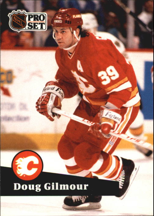 1991-92 Pro Set French #34 Doug Gilmour