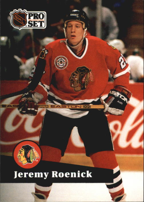 1991-92 Pro Set French #40 Jeremy Roenick