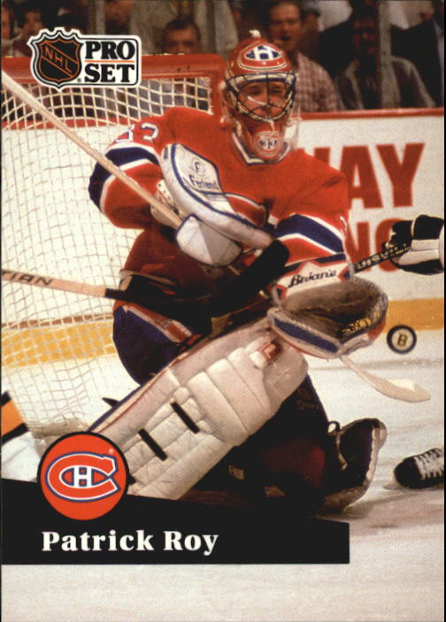 1991-92 Pro Set French #125 Patrick Roy