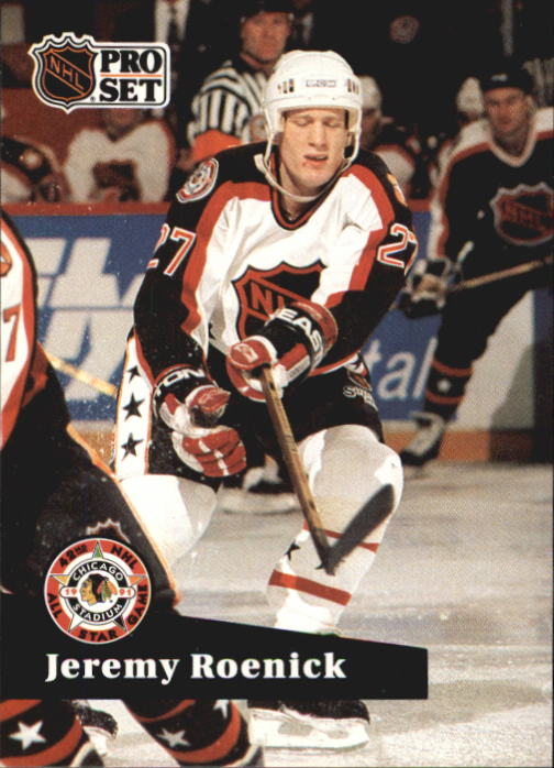 1991-92 Pro Set French #280 Jeremy Roenick AS UER