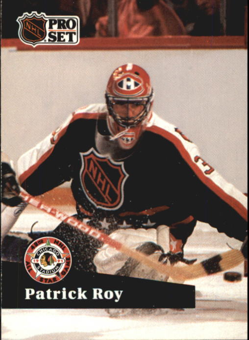 1991-92 Pro Set French #304 Patrick Roy AS