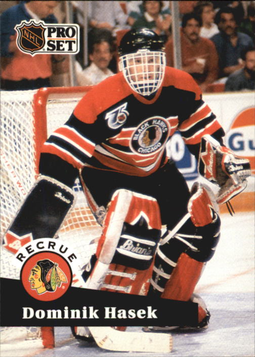 1991-92 Pro Set French #529 Dominik Hasek RC