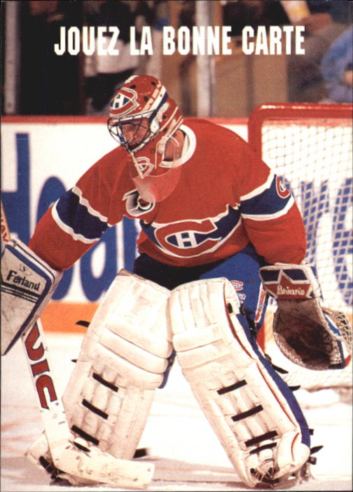 1991-92 Pro Set French #613 Patrick Roy SMART