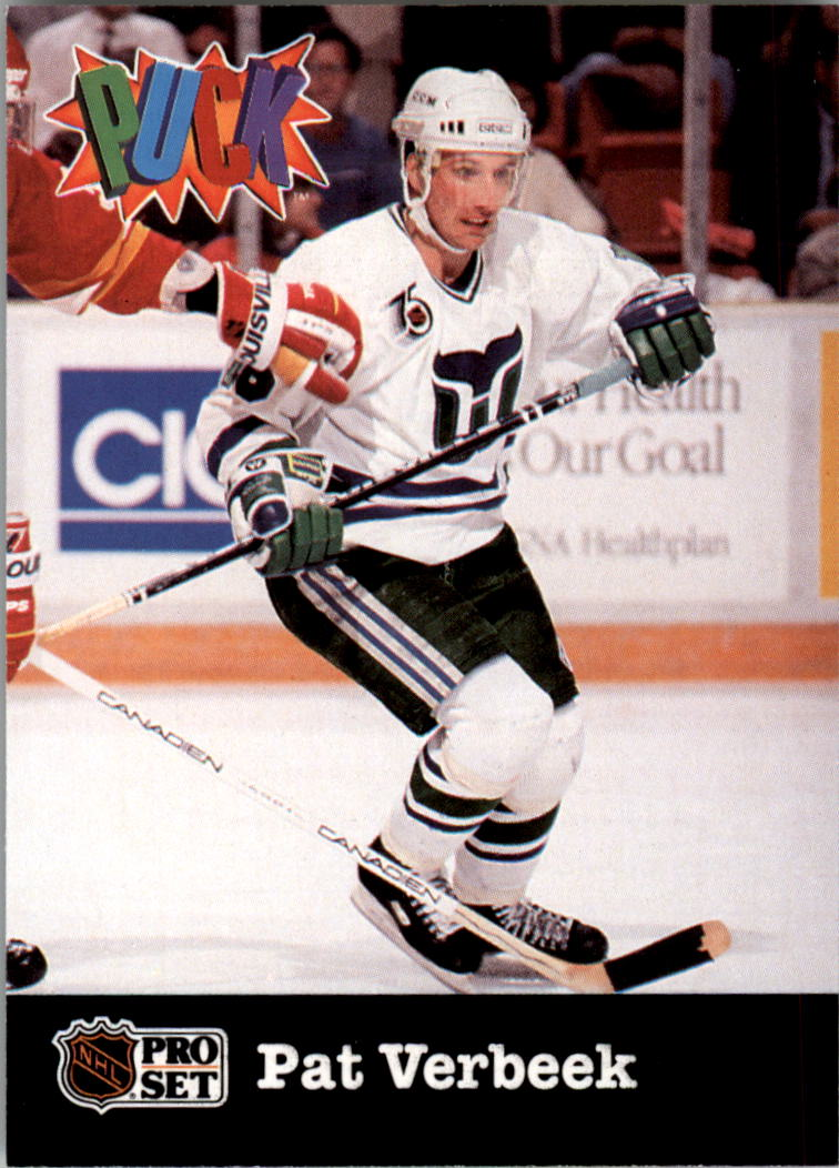 1991-92 Pro Set Puck Candy #10 Pat Verbeek