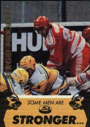 1991-92 Russian Tri-Globe Fedorov #4 Sergei Fedorov/Some men are stronger