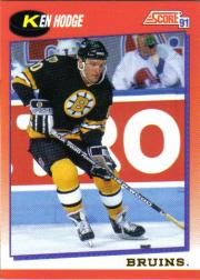 1991-92 Score Canadian English #113 Ken Hodge Jr.