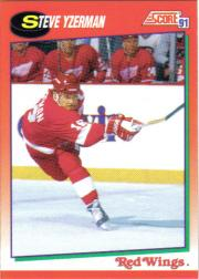 1991-92 Score Canadian English #190 Steve Yzerman