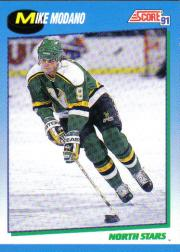 1991-92 Score Canadian English #467 Mike Modano