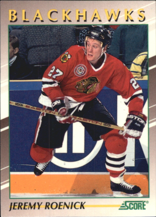 1991-92 Score Young Superstars #21 Jeremy Roenick