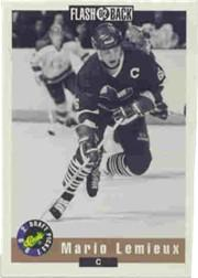 1992 Classic #66 Mario Lemieux FLB