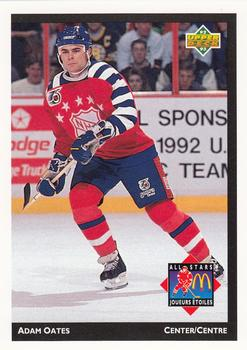 1992-93 McDonald's Upper Deck #11 Adam Oates