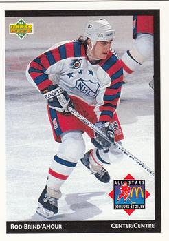 1992-93 McDonald's Upper Deck #16 Rod Brind'Amour